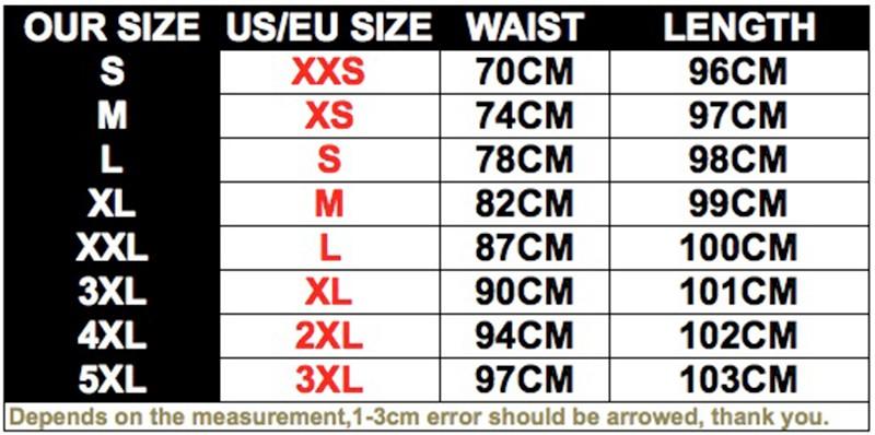 size info 00