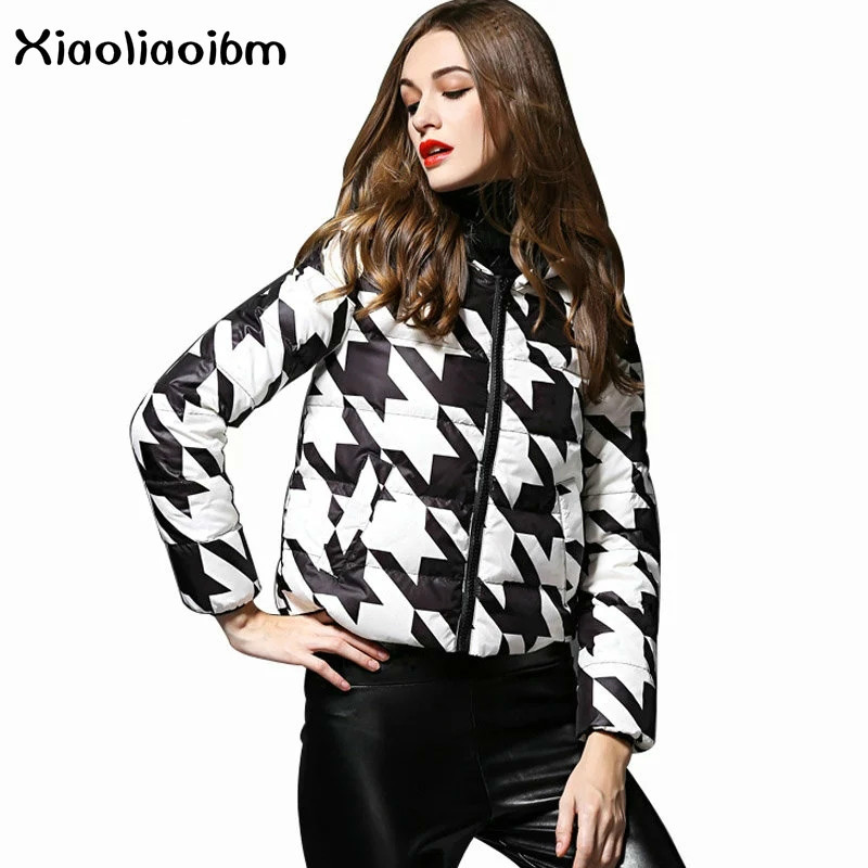 Down Jackets Women Short Thick Winter Coat Down Coats Women Parkas Winter Hooded Outwear Casual Jaqueta Feminina Womens Coat winer womens down jackets with hooded zipper bright black thick maternity clothes brand design ladies coats high quality outwear