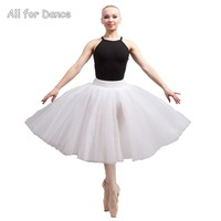 4 Layers Tulle With Pants Adult Ballet Dance Half Tutu Dance Wear For Lyrica Dance Practice