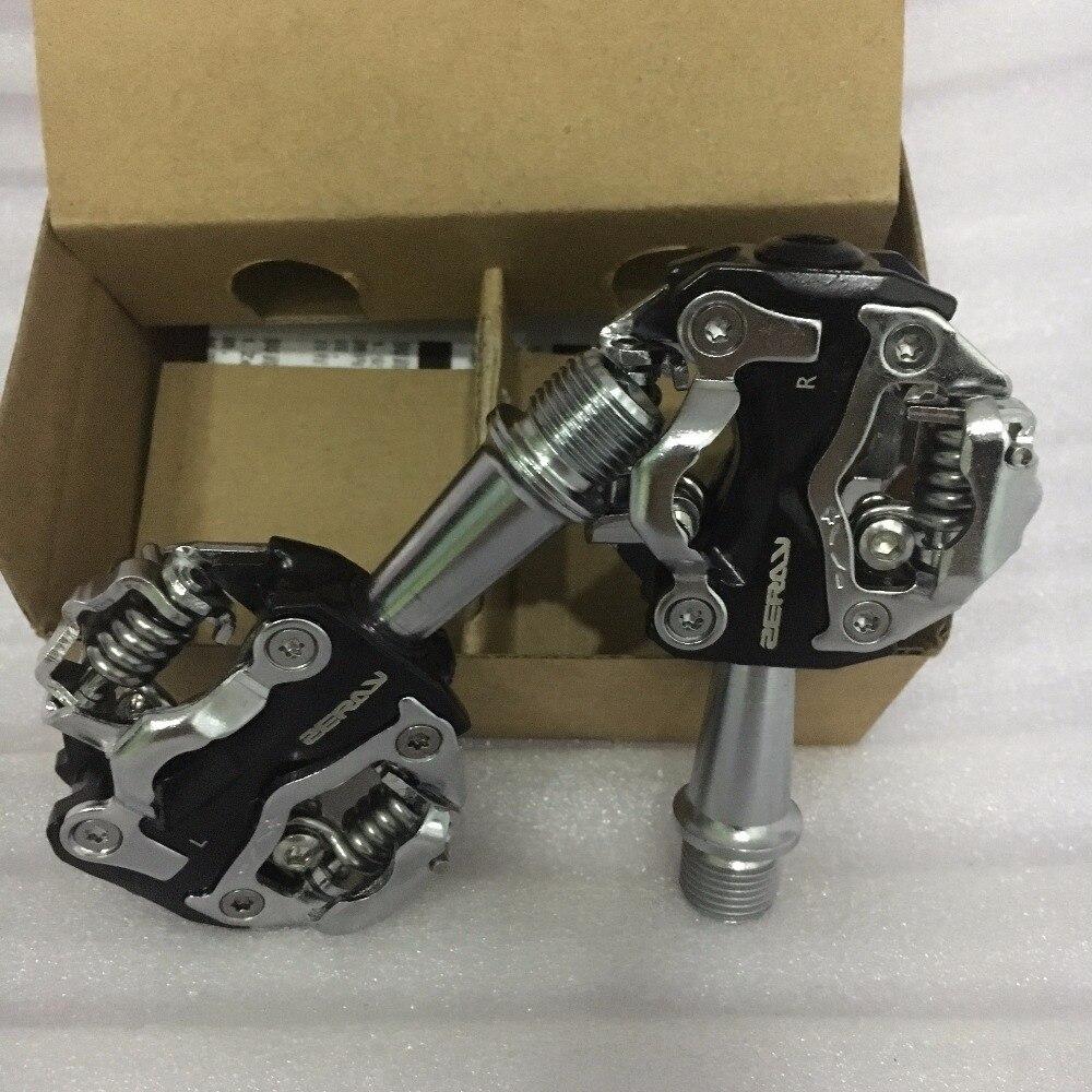ZERAY ZP-108S Radfahren Rennrad MTB Klick Pedal Self-locking Pedale SPD Kompatibel Pedale Fahrrad Teile