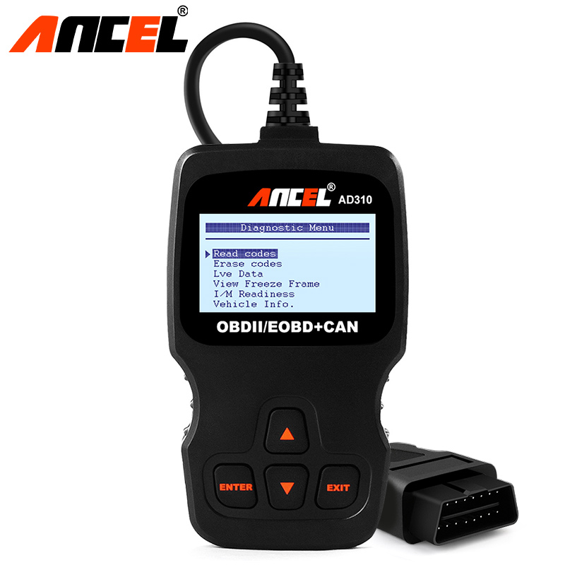 ANCEL AD310 OBDII Universal Auto Scannner Code Reader Diagnostic Scanner Tool OBD2 ScanTool Better than ELM327