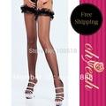Excelente qualidade super deal lotação sexy marca de moda de nova top venda mulheres rendas malha meia-calça meia-calça meias 20571