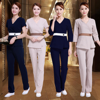 Women hospital Work Wear Uniforms clothes Beautician overalls beauty salon work clothes nurse uniform pharmacy work clothes
