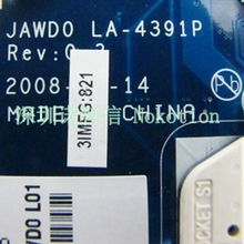 NOKOTION MB.BTEST.002 laptop motherboard for acer aspire 5530 5230 JAWD0 LA-4391P ddr2 MBBTEST002 without graphics card