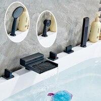 High end Best Price Bathroom Shower Bathtub Mixer Faucet with Handshower ORB