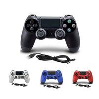 Новый проводной геймпад для PS4 PS3 контроллер для sony Playstation 4 Playstation 3 PS4 контроллер для Dualshock 4 джойстик usb-джойстика