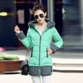 2016 NEW FASHION Parkas Women Winter Jacket Fashion Long Trick Female Warm Down Jacket Ladies Plus Size Parka Coat Women Clothes
