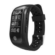 2017 S908 Smart Band Bluetooth 4.2 GPS Сердечного ритма Профессиональный Водонепроницаемый Sleep Monitor Шагомер умный Браслет для iOS и Android