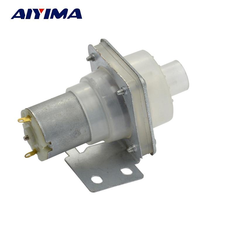 AIYIMA Water Pump Dispenser Electric Open Bottle Kettle DC12V Pumping Motor Left Pumps hearth