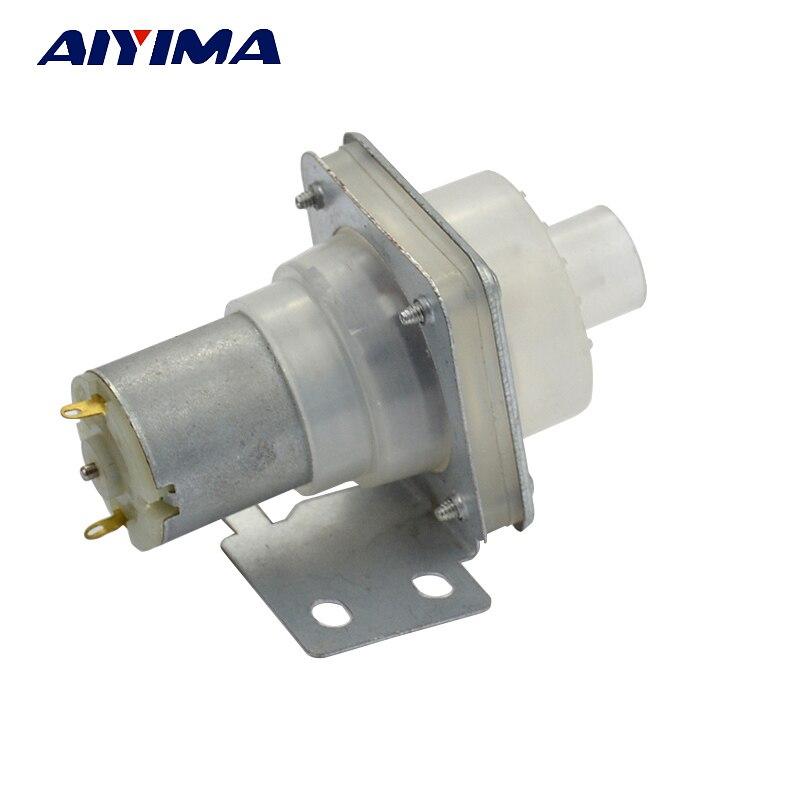 AIYIMA Water Pump Dispenser Electric Open Bottle Kettle DC12V Pumping Motor Left Pumps