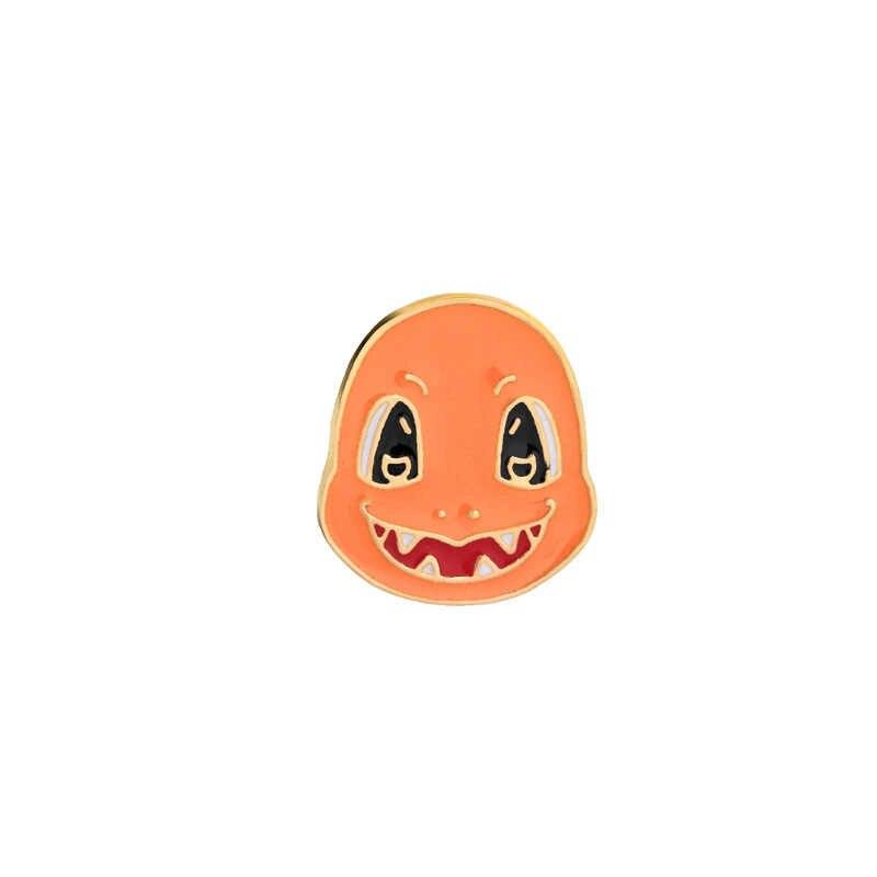 Animazione del fumetto Pokemon Spille Gioielli Elfo Sveglio Charmander Bulbasaur Pikachu Squirtle Giocoso Della Lega Dello Smalto Spilla Spilli