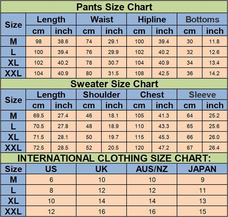 Hirigin Men Tracksuit Autumn Winter Active Suit Set Outwear Hooded Hoodies And Long Pants #2