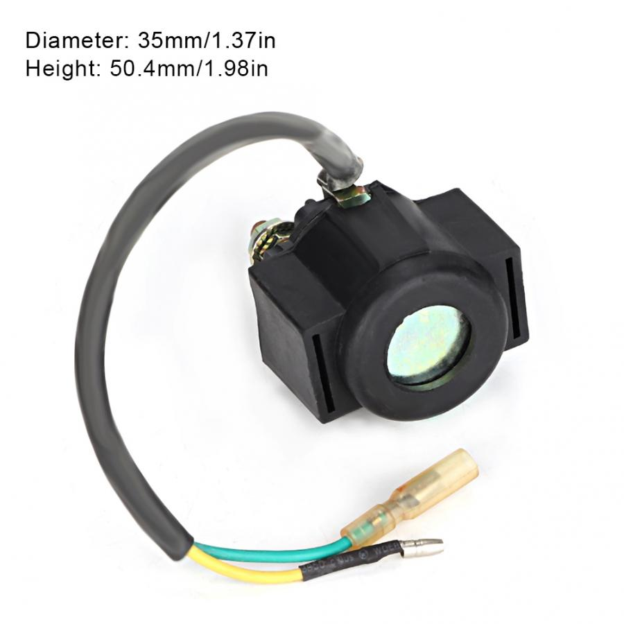 US $7 16 30% OFF|Starter Relay Solenoid Switch Key Motorcycle Starter Motor  Solenoid Relay Fit For CG125 SRZ150 C700 Motorbikes Motorcycle-in