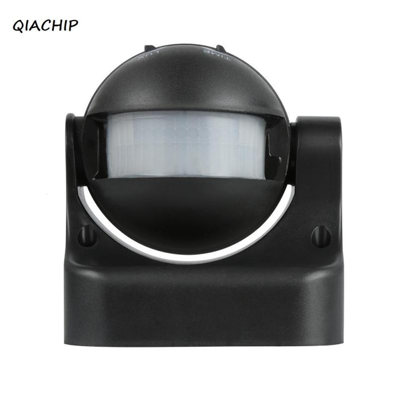 QIACHIP AC 110V 220V 50Hz 180 Degree Outdoor Security PIR Infrared Motion Sensor IP44 Waterproof Detector Movement Switch Z3 for 1set 110 240v 180 degree outdoor ip44 security pir infrared motion sensor detector movement switch promotion