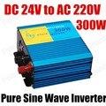 Onda senoidal pura potência do inversor 300 W DC 24 V para AC 220 V CE provou conversor inversor carro inversor com porta USB 50 HZ