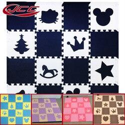 Wspólnego komitetu konsultacyjnego dla dzieci piankowa mata do zabawy z puzzli EVA/dzieci dywaniki zabawki dywan dla dzieci blokujące płytki podłogowe do ćwiczeń  16 lub 18 sztuk/zestaw  wolnej krawędzi
