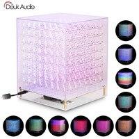 RGB LED Cube 8x8x8 3D Full Color DIY KIT/ Finished Music Spectrum
