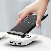 MOXOM batterie externe sans fil 18000 mAh USB mini batterie externe Portable sans fil chargeur de batterie de charge pour iPhone Samsung MI HUAWEI