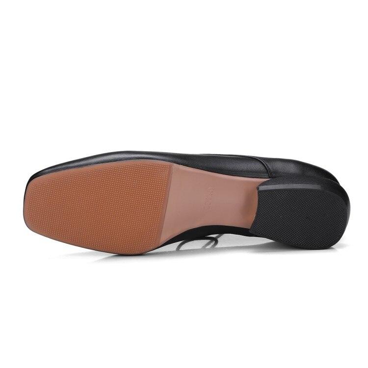 Casual Plaza Bombas De Negro Nueva Dedo Pie Zapatos Gran Damas blanco Tacones Mujer Tacón Moda Tamaño Bajo 42 33 Del La {zorssar} 2018 Vestido qpA4tt