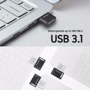 Image 5 - Samsung mini usb flash drive 64gb metal disco en clavagem 32g clef usb 3,1 128g 256g pendrive até 300 mb/s fit/ab memoria usb 3. 0