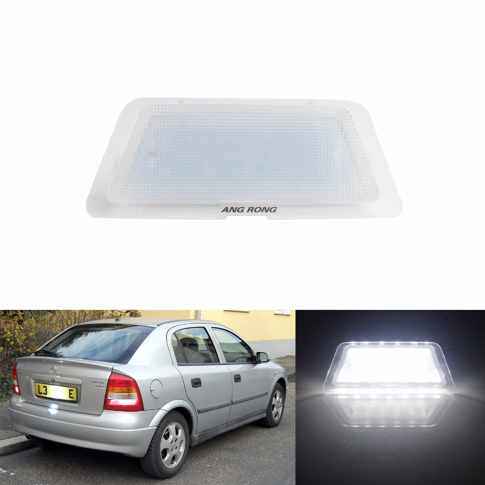 New LED License Number Plate Lamp Bulb Fit for Opel Astra G Hatch //Saloon 98-04