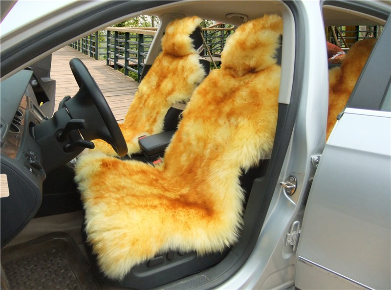 sheep car seat cover brow tip