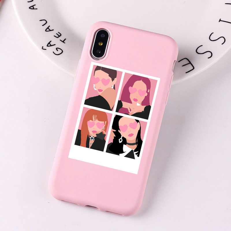 BlackPink Phone Case for iPhone X, XS, 11 Pro, Max XR, 8, 7, 6, 6S Plus