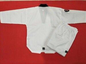Image 2 - Mooto entraîneurs taekwondo doboks Kukkiwon adultes entraîneurs uniforme enseignant doboks Taekwondo Standard International costumes dentraînement