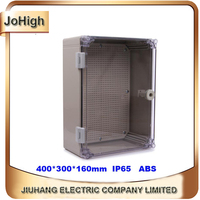 Quality Product ABS Material Transparent Cover IP65 Standard Waterproof Electrical Box 400 300 160mm