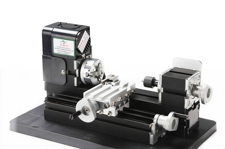 Thefirsttool Z6000M Metal Mini 6 w 1 zestaw maszyn narzędzie do majsterkowania układanki tokarka wiertarka wielofunkcyjna maszyna dla dzieci prezent dla dzieci