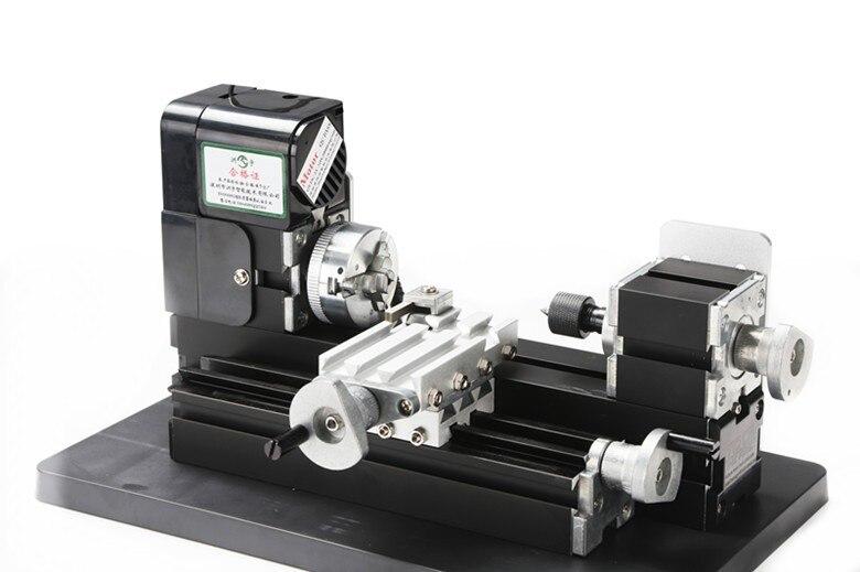 Thefirsttool Z6000M Metall Mini 6 in 1 Maschine Kit DIY Werkzeug Jigsaw Fräsen Drehmaschine Bohren Maschine Kombiniert Maschine Kinder Geschenk