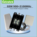 Double LCD Display Gain 65dB Dual Band Repeater GSM 900MHz UMTS 2100MHz WCDMA EDGE/ HSPA Mobile signal Booster Full set kit