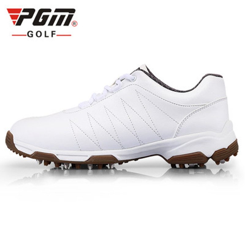 2018 summer new PGM patented design golf shoes women's shoes anti-side skid shoes waterproof breathable GOLF shoes Ultrafiber durable golf children shoes sneakers breathable anki skid soft shoes golf kids shoes outdoor sport running antiskid shoes