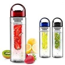 700ml Water Bottle with Fruit Infuser Plastic Water Fruit Bo
