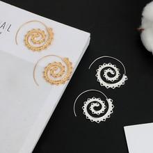 Spiral Ethnic Earrings
