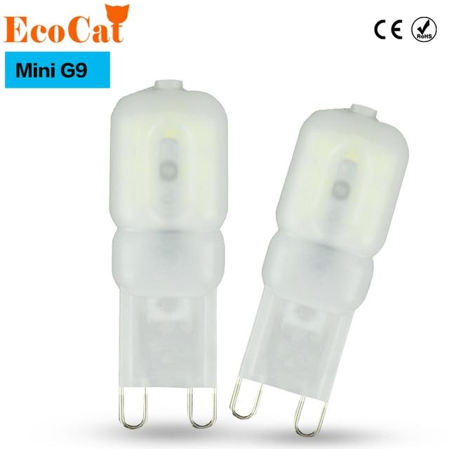 Ecocat Mini Led G9 Light 5w Smd2835 Lamp 220v 240v Bulb Lampada