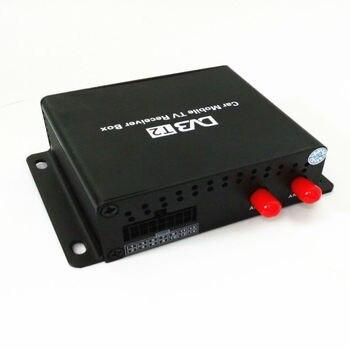 1080P سيارة المحمول DVB T2 160-180km / ساعة موالف مزدوج H.264 MPEG4 موبايل صندوق التلفزيون الرقمي استقبال التلفزيون USB HDMI DVB-T2 سيارة استقبال التلفزيون 2