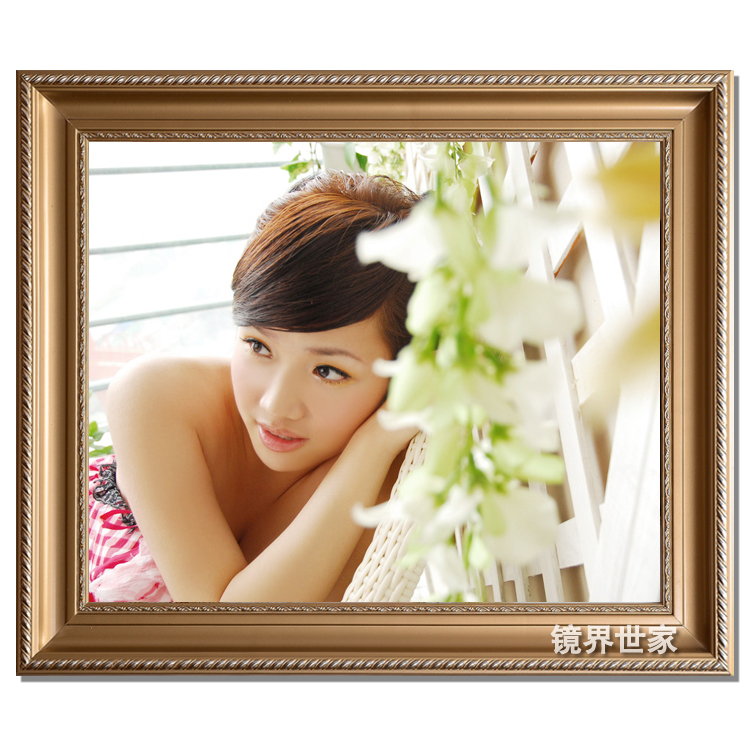 Cadre en bois promotion achetez des cadre en bois promotionnels sur alibaba group - Cadre photo mariage personnalise ...