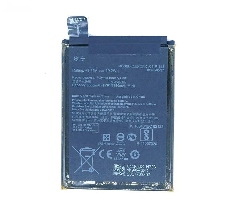 Bateria Original Asus C11P1612 para Asus ZenFone 3 ZOOM S ZE553KL Bulk