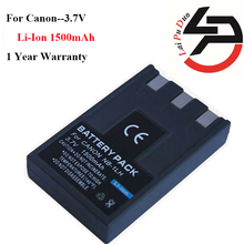 1500mah High Quality Replacement Camera Battery For Canon NB-1L NB-1LH Digital 200 Digital 300a For PowerShot S100
