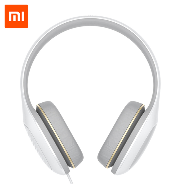 Xiaomi Mi Headphones Comfort Version With Mic Headset 3.5mm Stereo Music HiFi Earphone Button Control Headphone