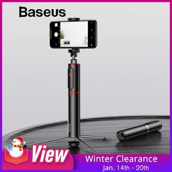 Baseus Bluetooth Selfie Vara Handheld Tripé de Câmera Do Telefone Inteligente com Controle Remoto Sem Fio Portátil Para o iphone Samsung Huawei Android