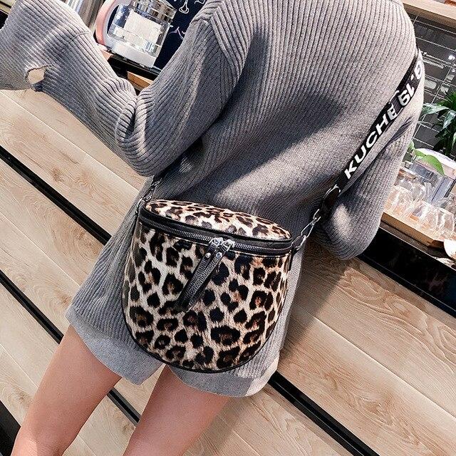 Estampa de leopardo Sela Saco De Mulher Pu Couro Crossbody Sacos Para As Mulheres Sacos Do Mensageiro Feminino Bolsa de Ombro Sacos Crossbody W237