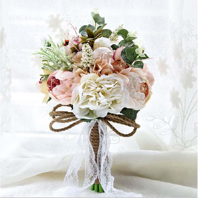 online buy wholesale simple bridal bouquets from china simple bridal bouquets wholesalers. Black Bedroom Furniture Sets. Home Design Ideas