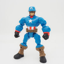 Mashers og lendas Marvel avengers Capitão América Super Hero Action Figure(China)