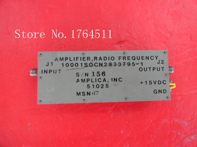 [BELLA] The Supply Of Amplica, Inc 10001SOCN2933795-1 15V SMA RF Amplifier