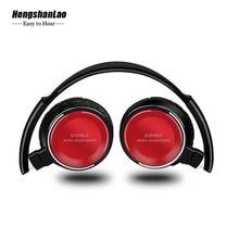 HIFI Stereo Wireless Earphones Foldable Adjustable Handsfree Headset  Bluetooth Headphones For Support SD Card With microphone недорго, оригинальная цена