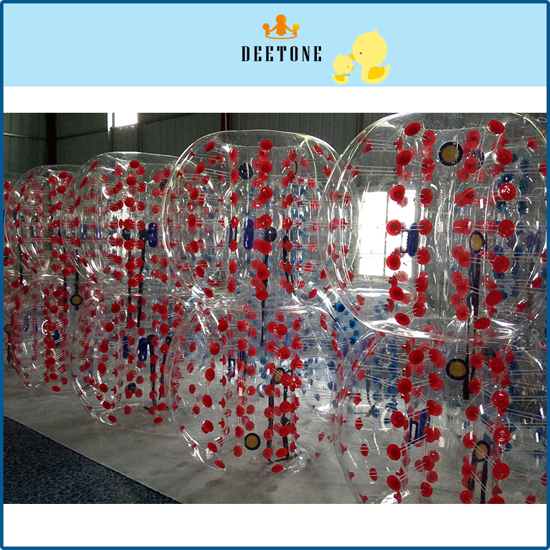 DEETONE 0.8mm PVC 1.2m 1.5m 1.8m Air Bumper Ball Body Zorb Ball Bubble football,Bubble Soccer Zorb Ball For Sale,Zorb ball