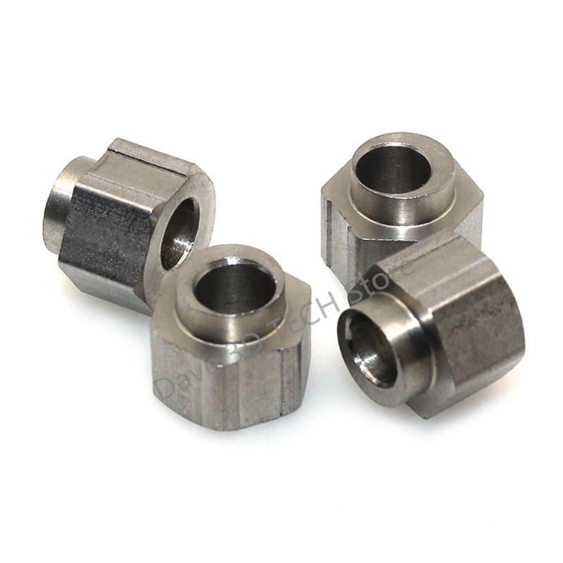 3D Printer Parts Openbuilds 10pcs 5mm Bore Eccentric Spacers for V Wheel Aluminium Extrusion 3D Printer Reprap dropshipping die steel feeding extrusion wheel for 3d printer black