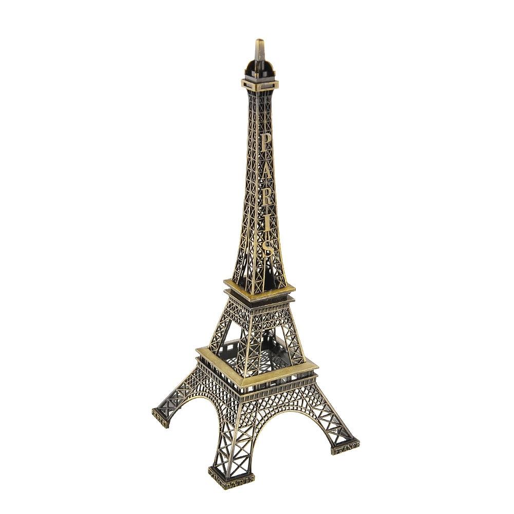 30cm high bronze tone alloy paris eiffel tower figurine office imitation model hot souvenir gift. Black Bedroom Furniture Sets. Home Design Ideas